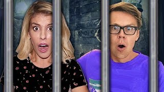 Escaping the GAME MASTER Underground Prison on Pirate Ship (In Real Life Mystery with Riddles)