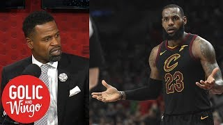 Stephen Jackson: LeBron is only superstar who needs to be told he's great | Golic and Wingo | ESPN
