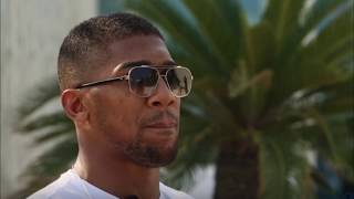 ANTHONY JOSHUA REACTS TO DEONTAY WILDER REFUSING TO FIGHT HIM UNTIL 2022
