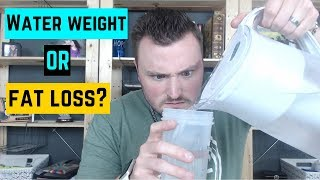 Water Weight or Fat - How to Tell if your Weight Loss is Actual Fat or Water Weight