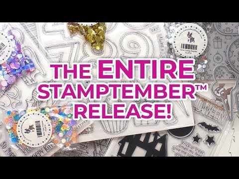 Simon's STAMPtember 2018 Release! SEE EVERYTHING!