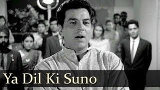 Ya Dil Ki Suno - Dharmendra - Sharmila Tagore - Anupama - Hemant Kumar - Evergreen Hindi Songs