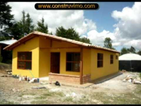 Como Se Construye Una Casa Con Panel Estructural Youtube