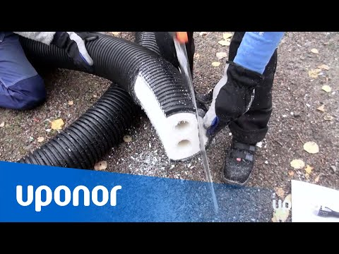Q&E-installation med Uponor Ecoflex Thermo PRO