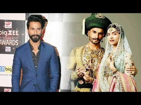 Shahid Kapoor Audience will love and appreciate my character in Padmavati