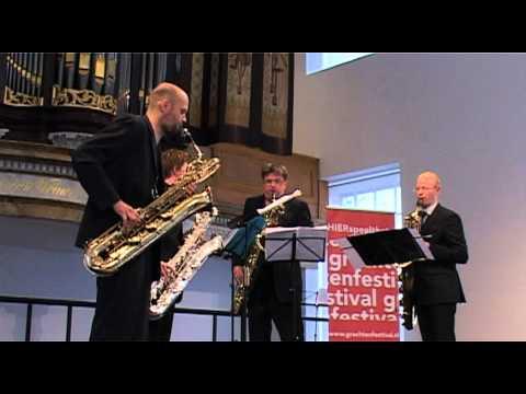 "The Four Baritones - Sergei Prokofijev (1891-1953) ""Scherzo humoristique"" Arr.: Niels Bijl"
