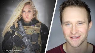 Actress Carly Schroeder leaves Hollywood to join U.S. Army | Ben Davies