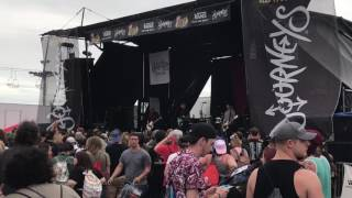 Hawthorne Heights - Saying Sorry (LIVE WARPED TOUR 2017)