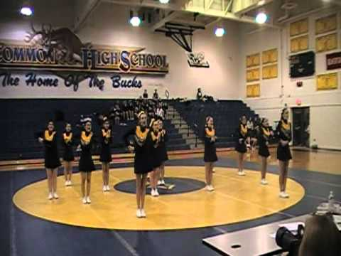 Roscommon Competitive cheerleading 2011 round 1