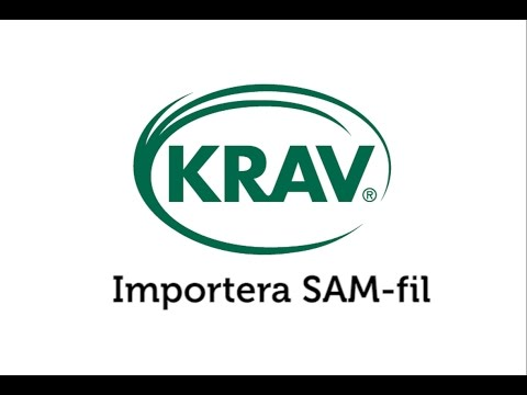 Mitt KRAV SAM import