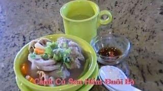Canh Củ Sen Hầm Đuôi Bò - Xuân Hồng