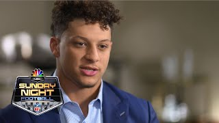 Patrick Mahomes on Chiefs' offense, how his style compares to Tom Brady I NFL I NBC Sports