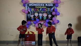 Wonders Kids Annual Day dance 2018