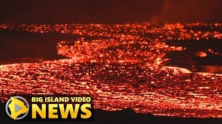 Hawaii Volcano Eruption Update - Sunday Morning (July 22, 2018)