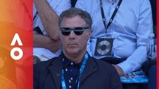 The best of Will Ferrell at the Australian Open 2018