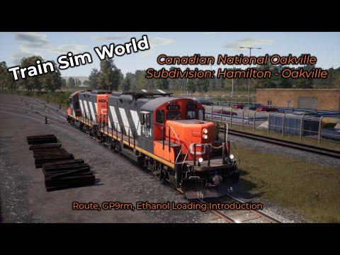 Train Sim World -- Eerste Kijk! #004 -- Canadian National Oakville Subdivision Hamilton - Oakville