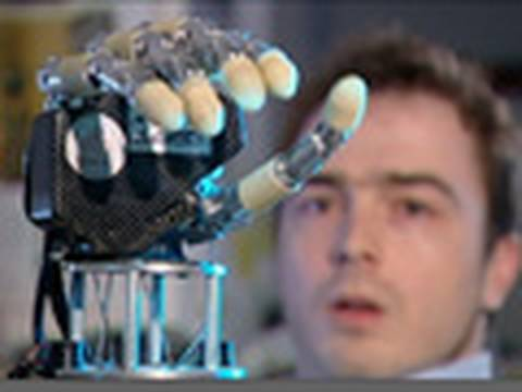 Man Controls Robotic Hand with Mind