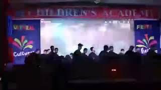 Horror Dance performance by class ix boys from children's academy lakhimpur kheri