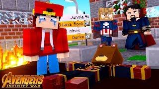THANOS KILLS BRUNO!!! w/Little Ropo - Minecraft Infinity War #5
