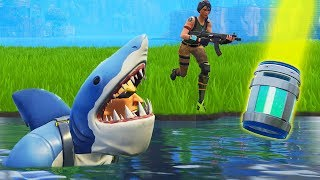 *NEW* Shark Skin TROLLING In Loot Lake!