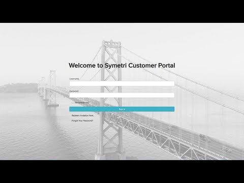 How to log a support case to Symetri Customer Portal? (ENG Voice-Over)