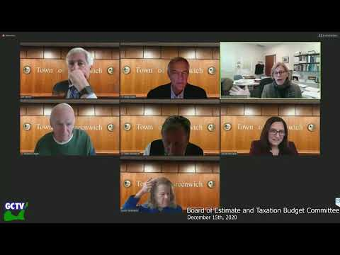 BET Budget Committee, December 15, 2020