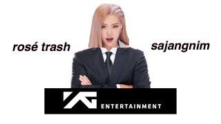 how i'd save YG entertainment