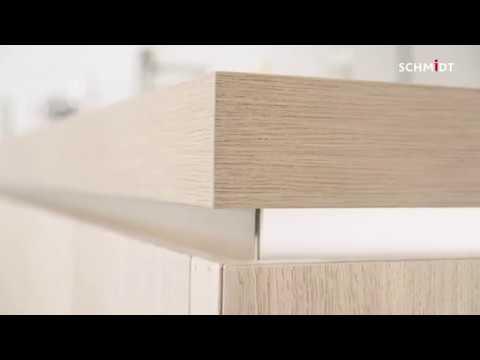 Schmidt Kjøkken Eolis-serien: Integrerte gripelister