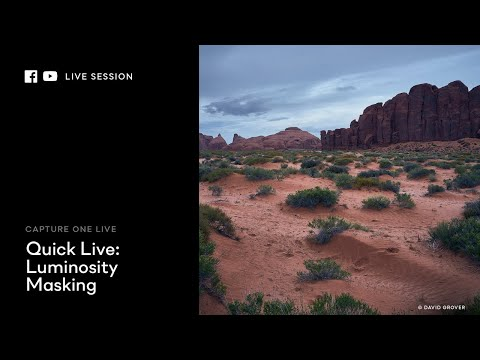 Capture One 20 | Quick Live : Luminosity masking