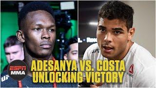 Unlocking Victory: Israel Adesanya vs. Paulo Costa | UFC 253 | ESPN MMA