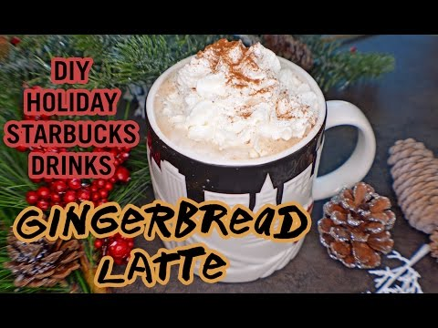 DIY Starbucks Holiday Drinks | Gingerbread Latte | Nuts.com
