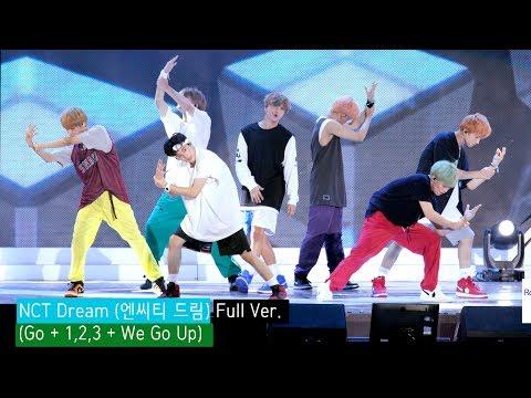 NCT Dream (엔씨티 드림) Full Ver. (Go + 1,2,3 + We Go Up) 4K 60P RAW 직캠]@180902 락뮤직