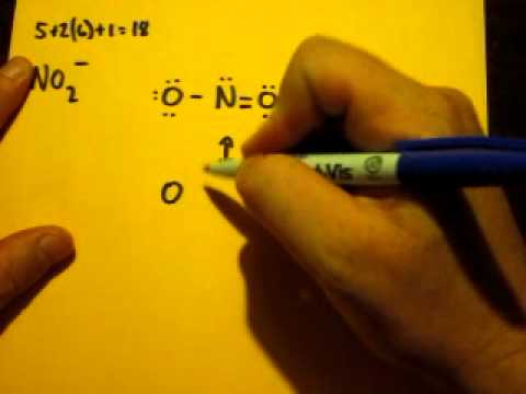 how to write a lewis structure for no2 ion