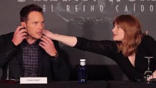 Chris Pratt en Madrid: Jurassic World 2 El reino caído