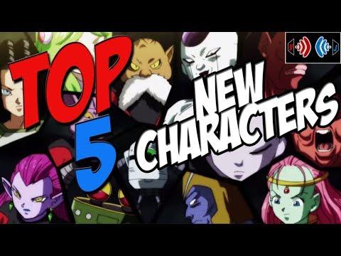TOP 5 NEW Dragonball Super Characters