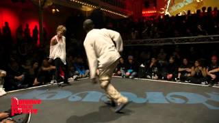 Candy Man vs Amy Secada - Judge Battle - House Dance Forever 2016