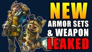 NEW WEAPON & ARMORSETS LEAKED! Monster Hunter World