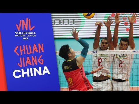 Chuan Jiang and China are ready for the competition  VNL Stars   Volleyball Nations League 2019