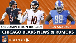 Bears Rumors On Signing Damon Harrison + Michael Lombardi Says QB Competition Is Rigged For Trubisky