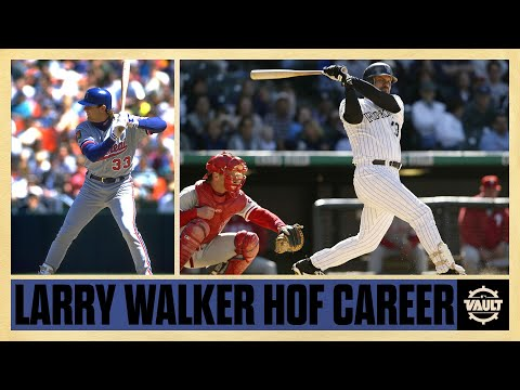 Larry Walker was one-of-a-kind! Becomes 2nd Canadian EVER inducted into Hall of Fame!
