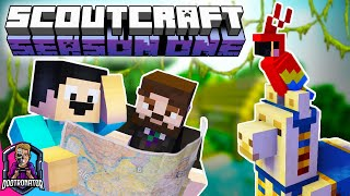 New HermitCraft for NOOB YouTubers! | Minecraft ScoutCraft Ep 4