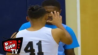 Julian Newman vs Ramone Woods PART 2! -  All Star Game! Exclusive Footage!