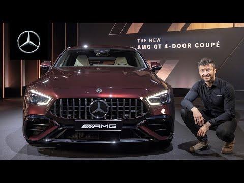 The New Mercedes-AMG GT 4-Door Coupé | Walkaround