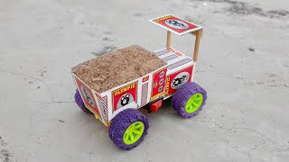 how to make small lorry tractor at home diy lorry truck