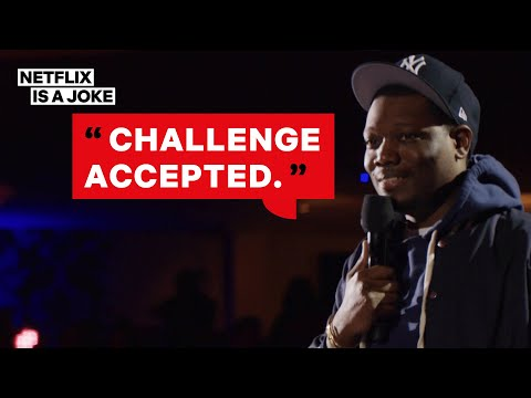 Michael Che Knows How Many Drinks He'd Need to Risk It All   Netflix Is  A Joke