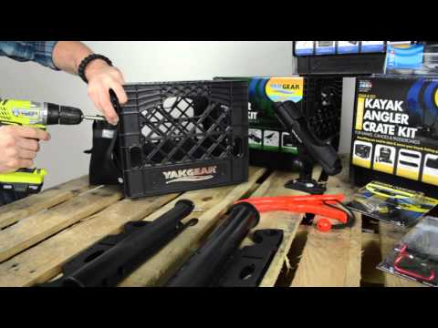 Yak Gear - Grab & Go Kayak Angler Crate Kit Overview