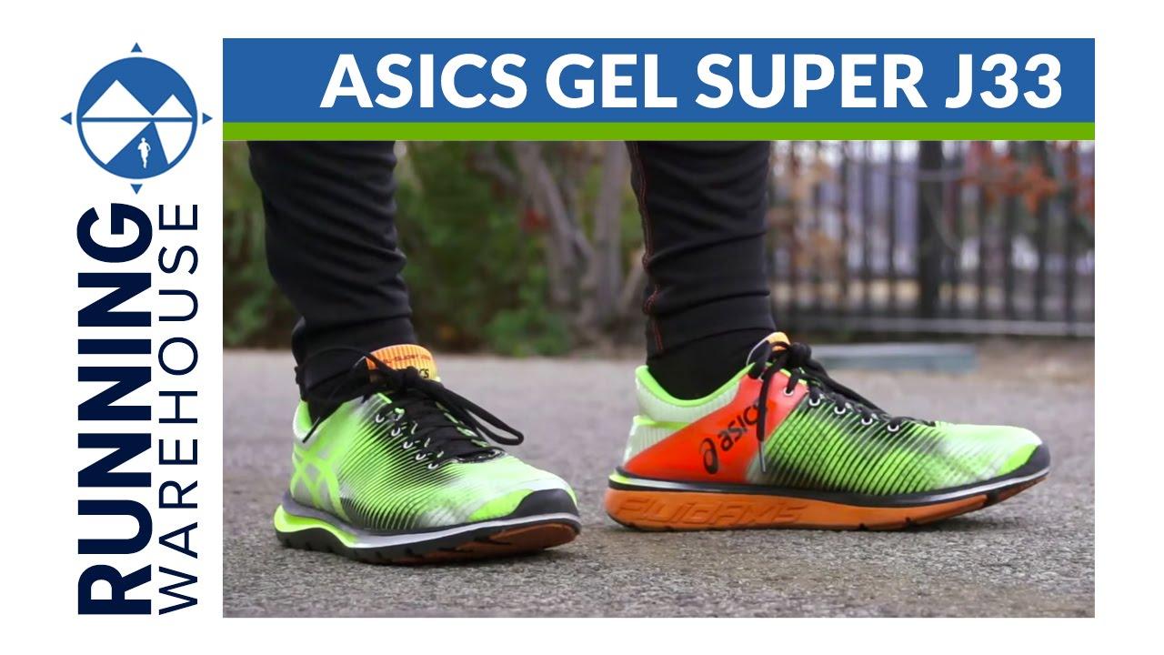 Asics Gel Super J33 Shoe Review - YouTube