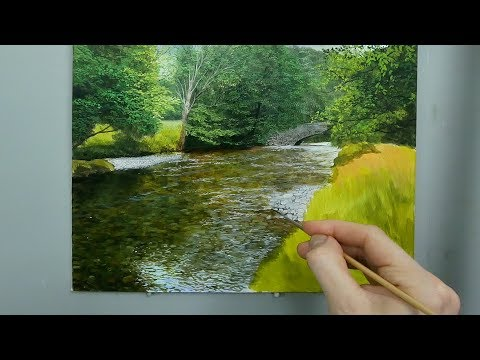 #119 How To Paint a Shallow River
