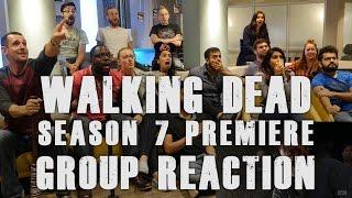 The Walking Dead - 7x1 Season 7 Premiere! - Group Reaction
