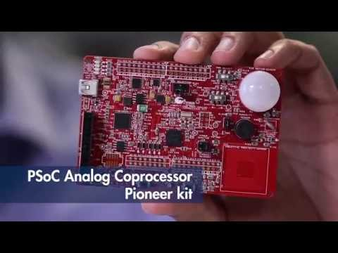 This video introduces Cypress's PSoC Analog Coprocessor, which simplifies the design of sensor-based systems.  The solution provides a scalable and reconfigurable architecture that integrates programmable analog front ends (AFEs) and a signal processing engine (32-bit ARM Cortex-M0+) that can calibrate and tune the AFE in software.